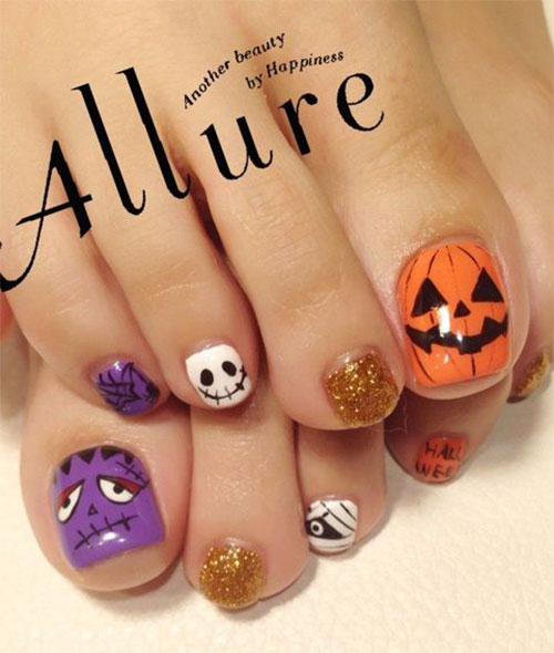 10-Inspiring-Halloween-Toe-Nail-Art-Designs-Ideas-2015-6