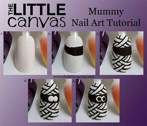 10-Simple-Easy-Halloween-Nail-Art-Tutorials-For-Beginners-2015-2