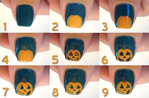 10-Simple-Easy-Halloween-Nail-Art-Tutorials-For-Beginners-2015-3