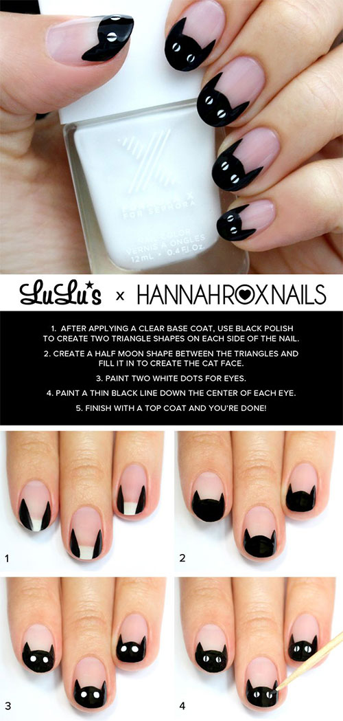 10-Simple-Easy-Halloween-Nail-Art-Tutorials-For-Beginners-2015-5