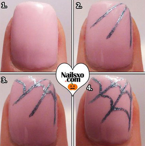 10-Simple-Easy-Halloween-Nail-Art-Tutorials-For-Beginners-2015-9