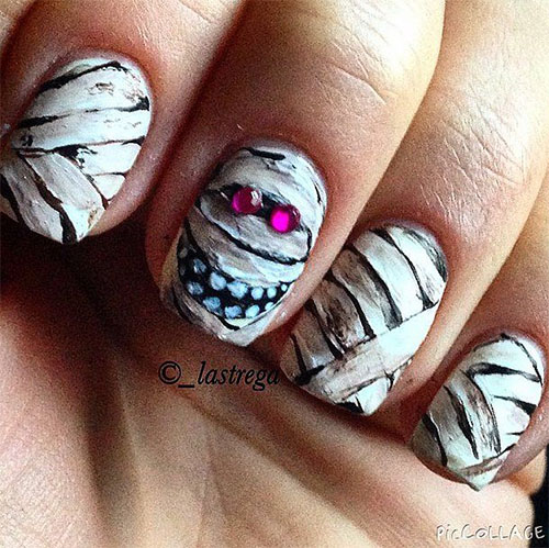 15-Halloween-Mummy-Nail-Art-Designs-Ideas-For-Girls-2015-13