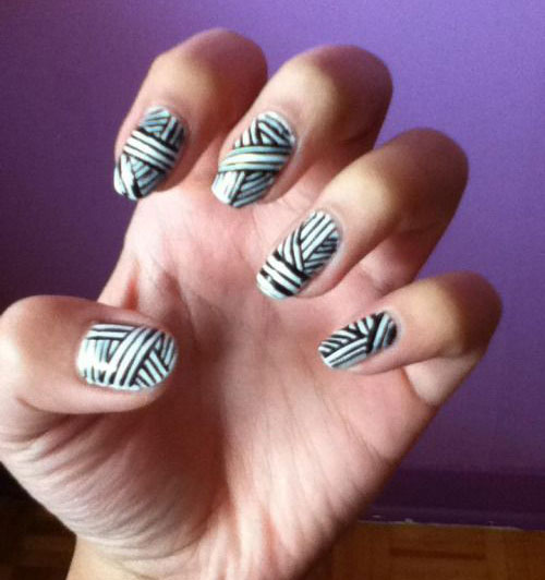 15-Halloween-Mummy-Nail-Art-Designs-Ideas-For-Girls-2015-15
