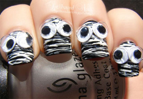 15-Halloween-Mummy-Nail-Art-Designs-Ideas-For-Girls-2015-8