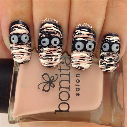15-Halloween-Mummy-Nail-Art-Designs-Ideas-For-Girls-2015-9