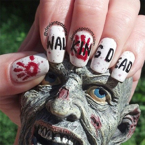 18-Zombie-Nail-Art-Designs-Ideas-Stickers-For-Halloween-2015-1