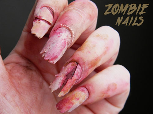 18-Zombie-Nail-Art-Designs-Ideas-Stickers-For-Halloween-2015-2