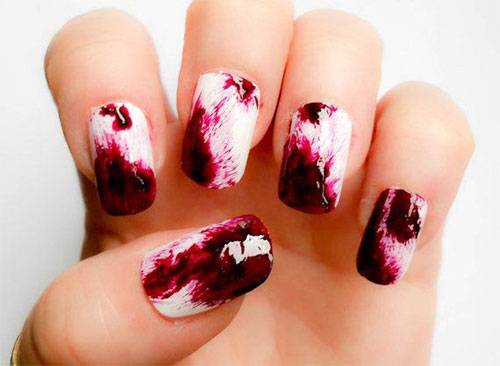 18-Zombie-Nail-Art-Designs-Ideas-Stickers-For-Halloween-2015-7