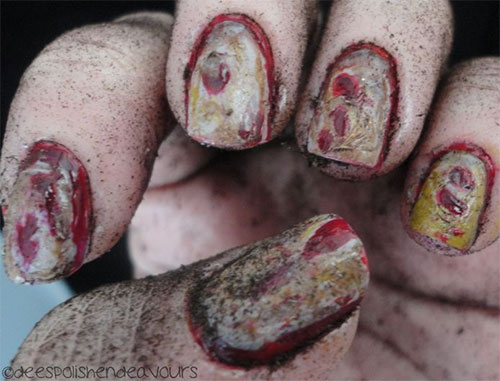 18-Zombie-Nail-Art-Designs-Ideas-Stickers-For-Halloween-2015-8
