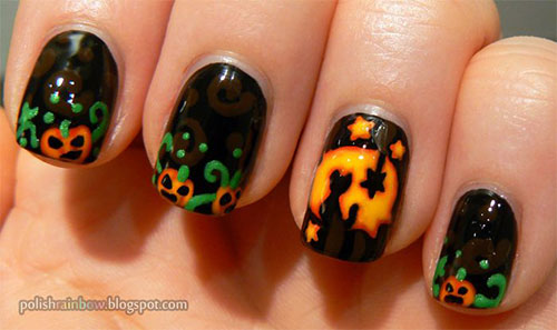 20-Best-Pumpkin-Nail-Art-Designs-Ideas-Stickers-For-Halloween-2015-10