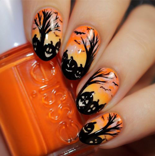 20-Best-Pumpkin-Nail-Art-Designs-Ideas-Stickers-For-Halloween-2015-17