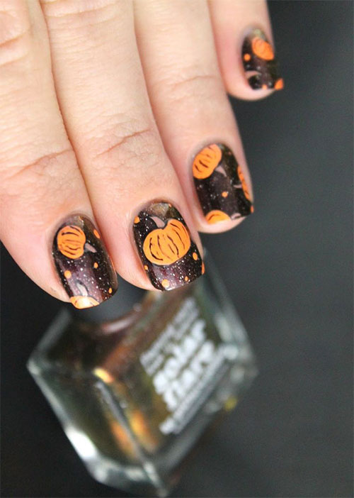 20-Best-Pumpkin-Nail-Art-Designs-Ideas-Stickers-For-Halloween-2015-19