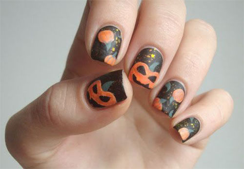 20-Best-Pumpkin-Nail-Art-Designs-Ideas-Stickers-For-Halloween-2015-7