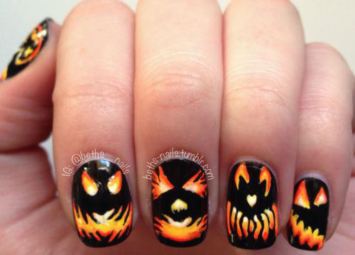 20-Best-Pumpkin-Nail-Art-Designs-Ideas-Stickers-For-Halloween-2015-8