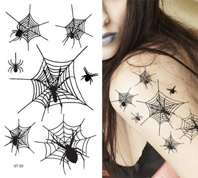 12-Unique-Halloween-Themed-Tattoo-Designs-Ideas-2015-7
