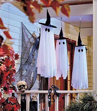 homemade haunted house decorations - Homemade Halloween House Decorations
