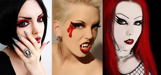 12-Vampire-Halloween-Face-Make-Up-looks-Ideas-2015-F