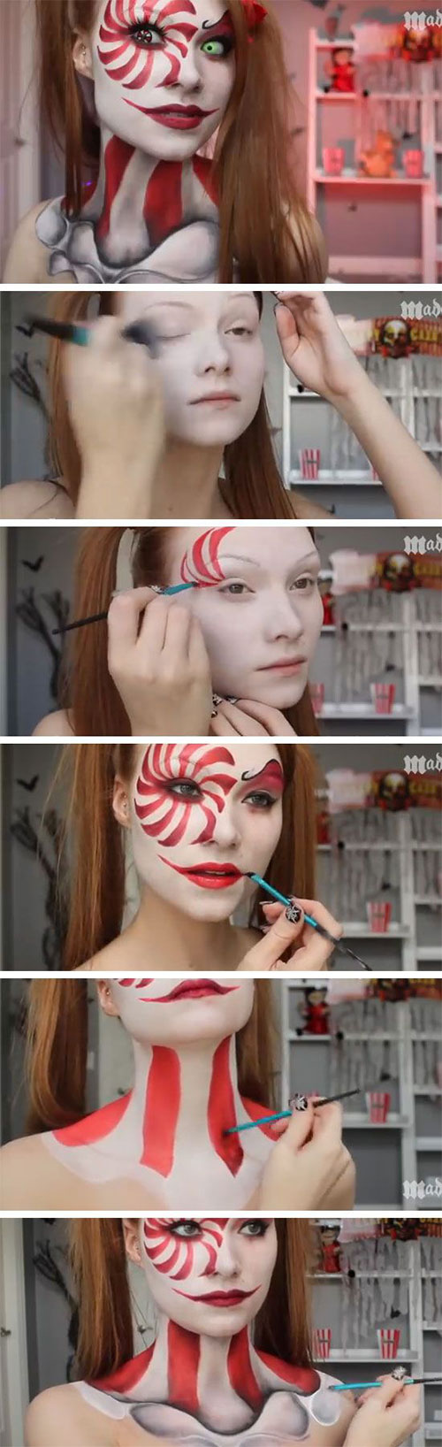 15-Best-Easy-Halloween-Makeup-Tutorials-For-Beginners-Learners-2015-1