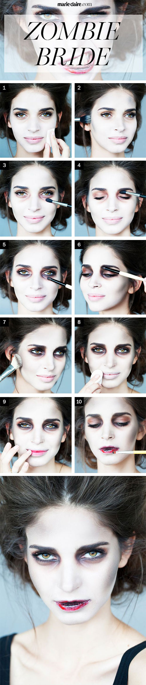 15-Best-Easy-Halloween-Makeup-Tutorials-For-Beginners-Learners-2015-10