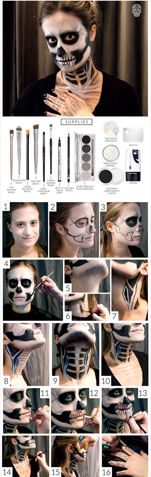 15-Best-Easy-Halloween-Makeup-Tutorials-For-Beginners-Learners-2015-12