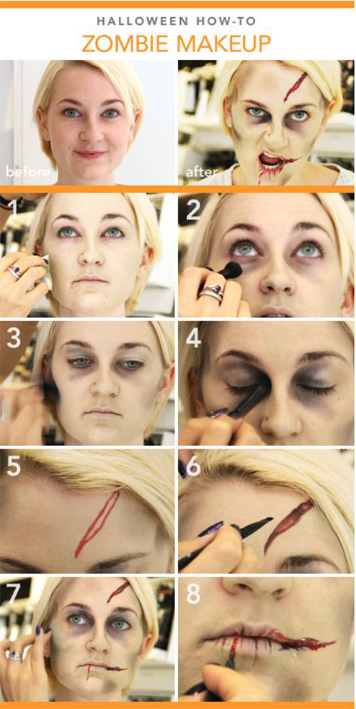 15-Best-Easy-Halloween-Makeup-Tutorials-For-Beginners-Learners-2015-13
