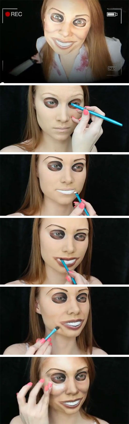 15+ Best & Easy Halloween Makeup Tutorials For Beginners ...