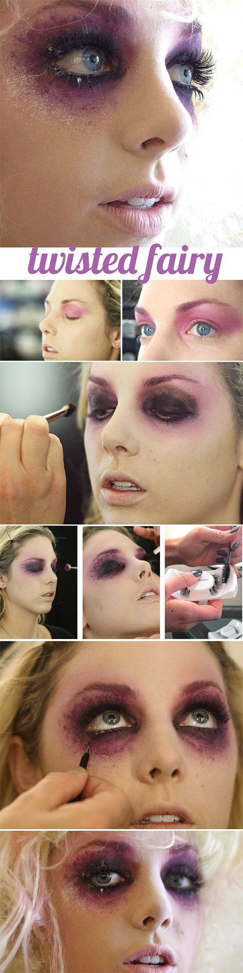 15-Best-Easy-Halloween-Makeup-Tutorials-For-Beginners-Learners-2015-8