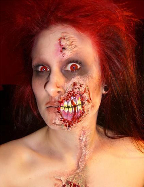 15-Best-Zombie-Halloween-Makeup-Styles-Ideas-For-Girls-2015-1