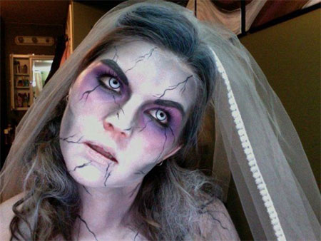 15-Creative-Halloween-Bride-Face-Make-Up-Styles-looks-Trends-2015-12