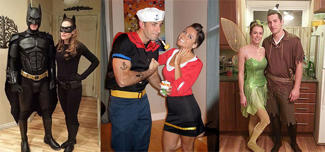 sc 1 st  Girlshue & 15 Creative u0026 Unique Couple Halloween Costume Ideas 2015 | Girlshue