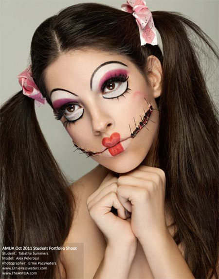 15-Halloween-Doll-Face-Makeup-Ideas-Trends-Styles-2015-14
