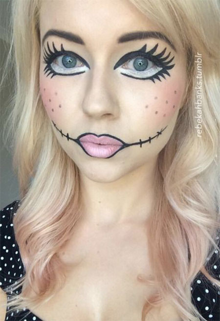 15-Halloween-Doll-Face-Makeup-Ideas-Trends-Styles-2015-9