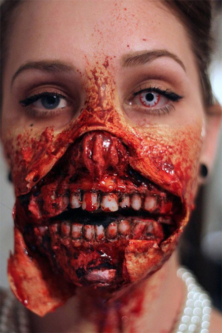 15-Halloween-Half-Face-Teeth-Mouth-Make-Up-Ideas-2015-10