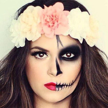 15-Halloween-Half-Face-Teeth-Mouth-Make-Up-Ideas-2015-11