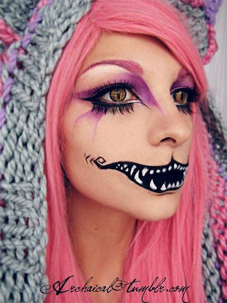 15-Halloween-Half-Face-Teeth-Mouth-Make-Up-Ideas-2015-12