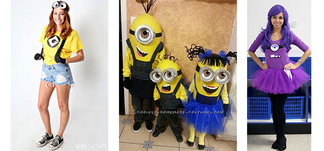 15 minion halloween costume ideas for kids girls 2015 girlshue - 5 Girl Halloween Costumes