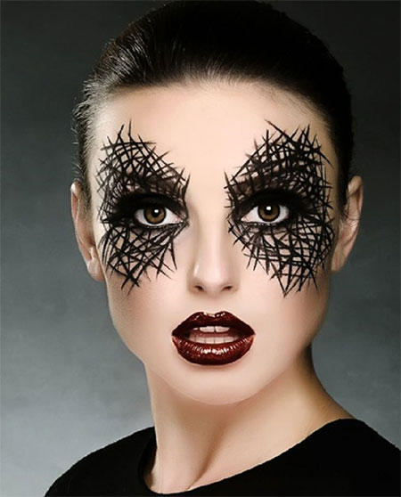15 spooky creepy halloween eye make up trends