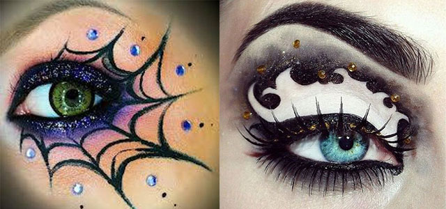 15 + Inspiring Halloween Eye Make Up Looks, Ideas & Trends 2014 ...