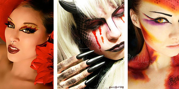 Devil Costume Makeup Female - Mugeek Vidalondon