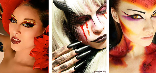 15-Unique-Yet-Scary-Halloween-Devil-Face-Makeup-Ideas-looks-2015-F