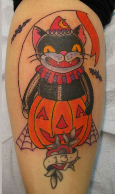 18-Scary-Creative-Halloween-Inspired-Temporary-Tattoo-Designs-Ideas-2015-7
