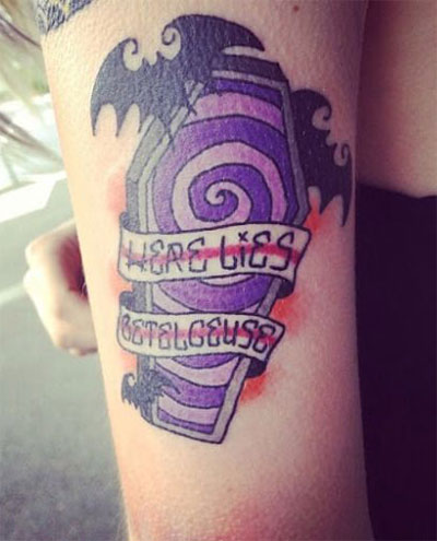 18-Scary-Creative-Halloween-Inspired-Temporary-Tattoo-Designs-Ideas-2015-8