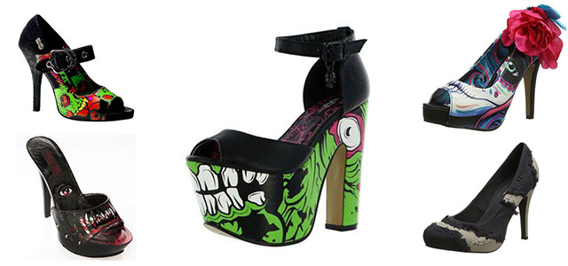 18 scary trendy halloween shoes heels boots for girls women 2015