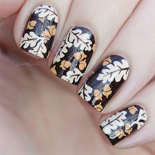 20+ Best Fall / Autumn Nail Art Designs & Ideas 2015 | Girlshue