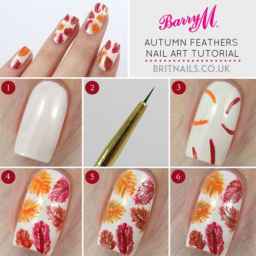 Easy-Simple-Step By-Step-Fall-Nail-Art-Tutorials-For-Learners-2015-3