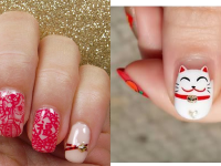 10 Ideas for Chinese New Year Nail Art 2016