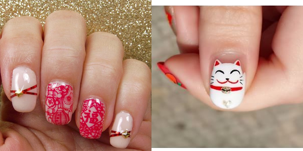 10 Ideas for Chinese New Year Nail Art 2016 | Girlshue