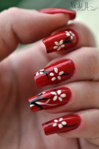 10 Ideas for Chinese New Year Nail Art 2016 -3