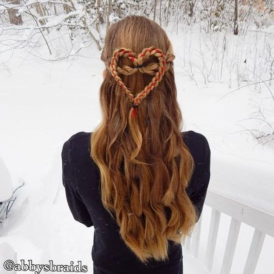 2016 Valentine's Day Hairstyles for Women 2