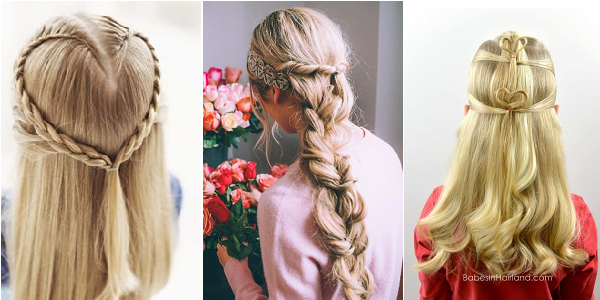 2016 Valentine's Day Hairstyles for Women
